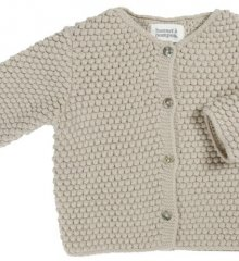 BOBBLE CARDIGAN_STONE