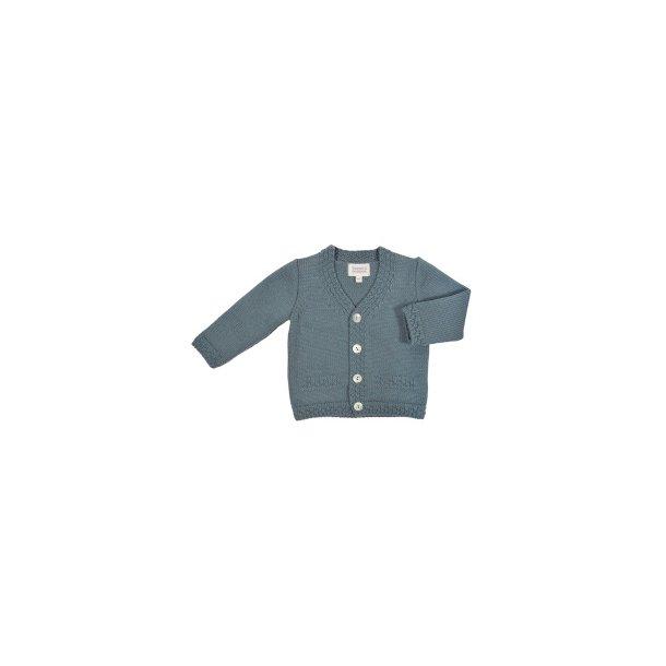 BABY BOY_Basic cardigan_steel blue