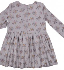 Antik blomster kjole