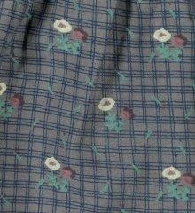 Nederdel m/ blomsterprint