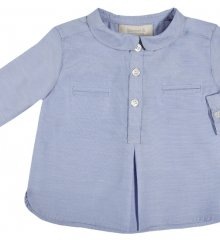 Mao Oxford baby skjorte