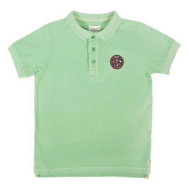 Polo t-shirt_Grøn