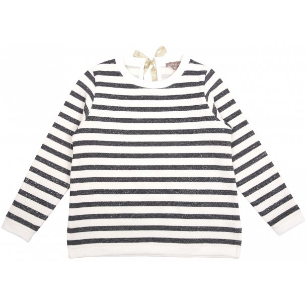 Sweatshirt m/ striber_marine