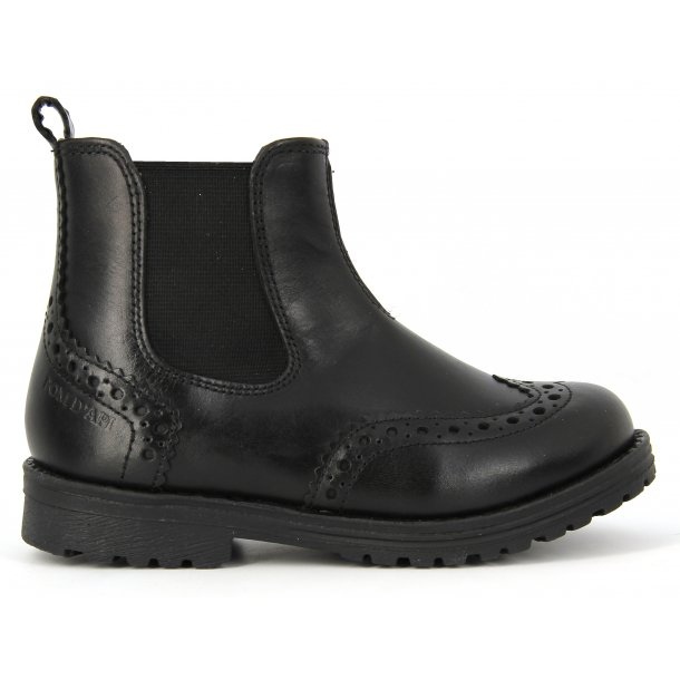 Worky Fur Boots_Black