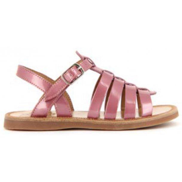 Plagette Strap_Metal Pink